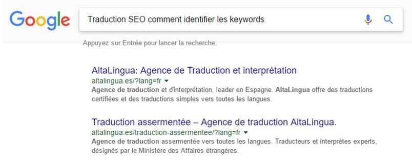 Traducteur SEO : Identifier les keywords pour réaliser une traduction SEO.