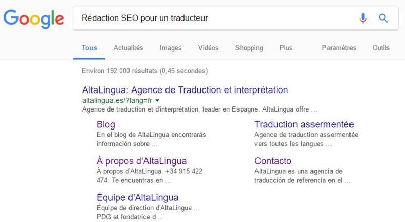 Traducteur SEO: la rédaction SEO pour un traducteur.